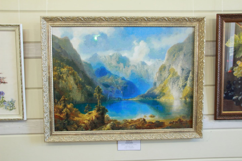 Открытие выставки Уфимского клуба любителей вышивания «Вдохновение» в галерее «Урал»