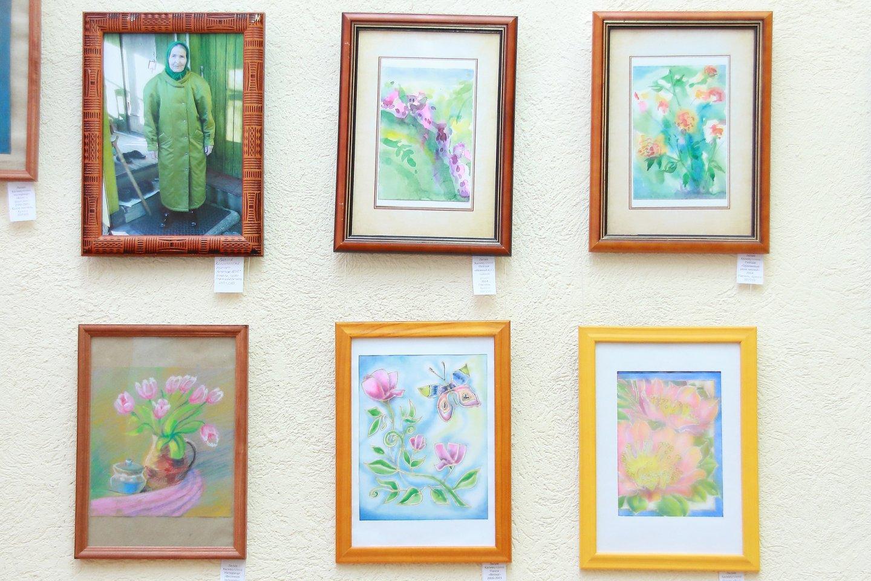 «Так ковалась сталь: персональная выставка художника Лилии Калимуллиной в Центральной городской библиотеке