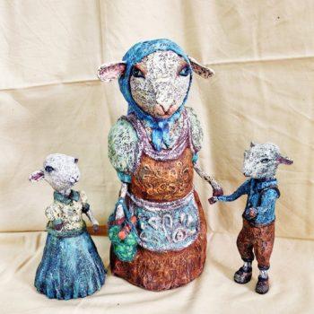 «Коза с козлятами», Динара Гарифуллина