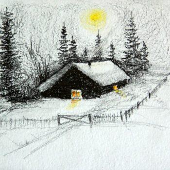 «Зимнее солнце», Сергей Герасимов