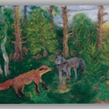 «Лиса и волк», Фарида Хуснитдинова