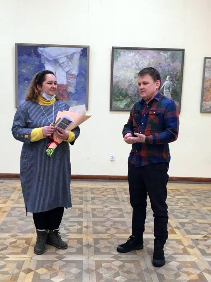 Персональная выставка художника Дины Фаткуллиной в Национальной библиотеке им. А.З. Валиди