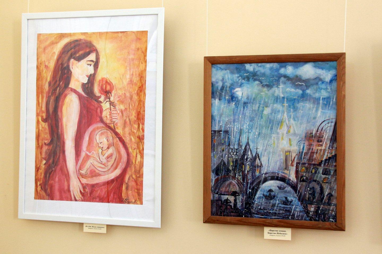 «Верю... Надеюсь... Люблю...»: открытие персональной выставки Надежды Бикбулатовой в художественном зале Национальной библиотеки им. А.З. Валиди