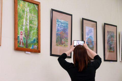 «Весна идёт, лето ведёт»: открытие выставки объединения художников «Артфольклор»