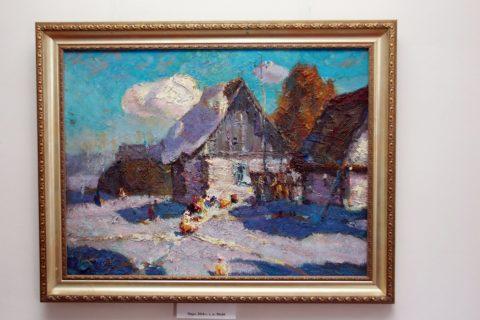 Выставка художника Резяба Вакилова в Мемориальном доме-музее А.Э. Тюлькина