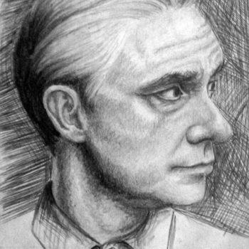 «Мартин Фриман (британский актер)», Валерия Генералова