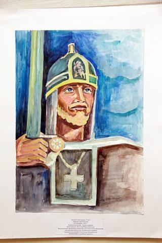 Открытие республиканской выставки детского рисунка в галерее «Урал»
