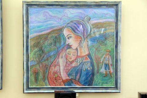 «Образы нашего времени»: открытие персональной выставки уфимского художника Елены Поздновой