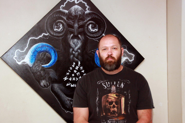 «Мифология тела»: персональная выставка уфимского художника-татуировщика Олега Иванова в галерее «Урал»