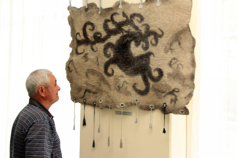«Войлокфест»: открытие конкурсной выставки фестиваля художественного войлока, посвященного VI Всемирной Фольклориаде
