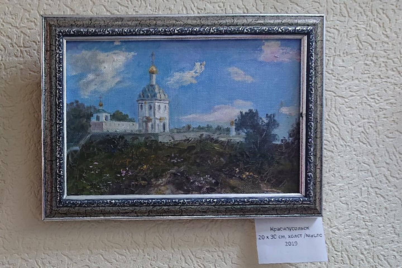 «С благодарностью...»: открытие персональной выставки масляной живописиУльяны Калединой