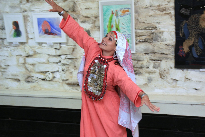 «В унисон с фольклориадой»: открытие выставки художников группы «Артфольклор»