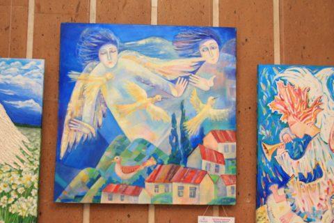 «Ангелы мира»: международная выставка живописи в Федерации профсоюзов Башкирии