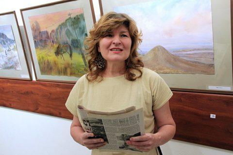 «Радость бытия в творчестве»: открытие выставки работ художника Альберта Кудаярова в Национальном музее Республики Башкортостан