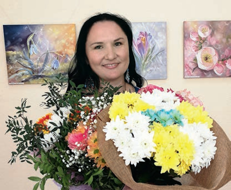 Художник Эльвира Камалетдинова-Шангареева