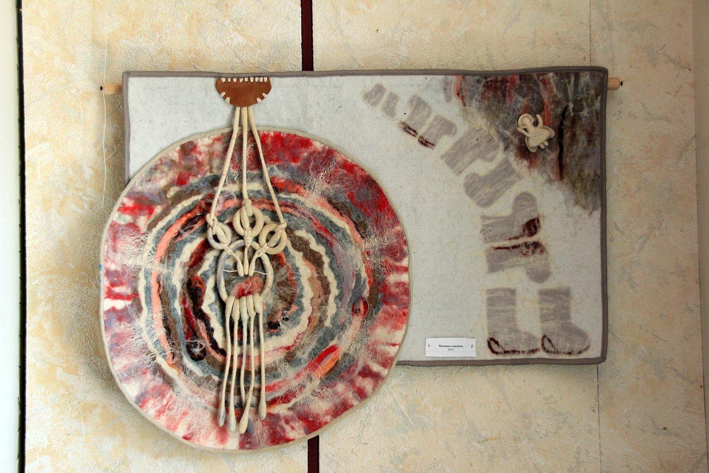 Открытие выставки мастера художественной обработки войлока Земфиры Гилязовой в галерее «Урал»