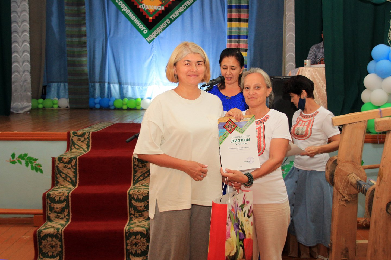 Фестиваль-конкурс современного ручного ткачества «Орловка» в Архангельском районе