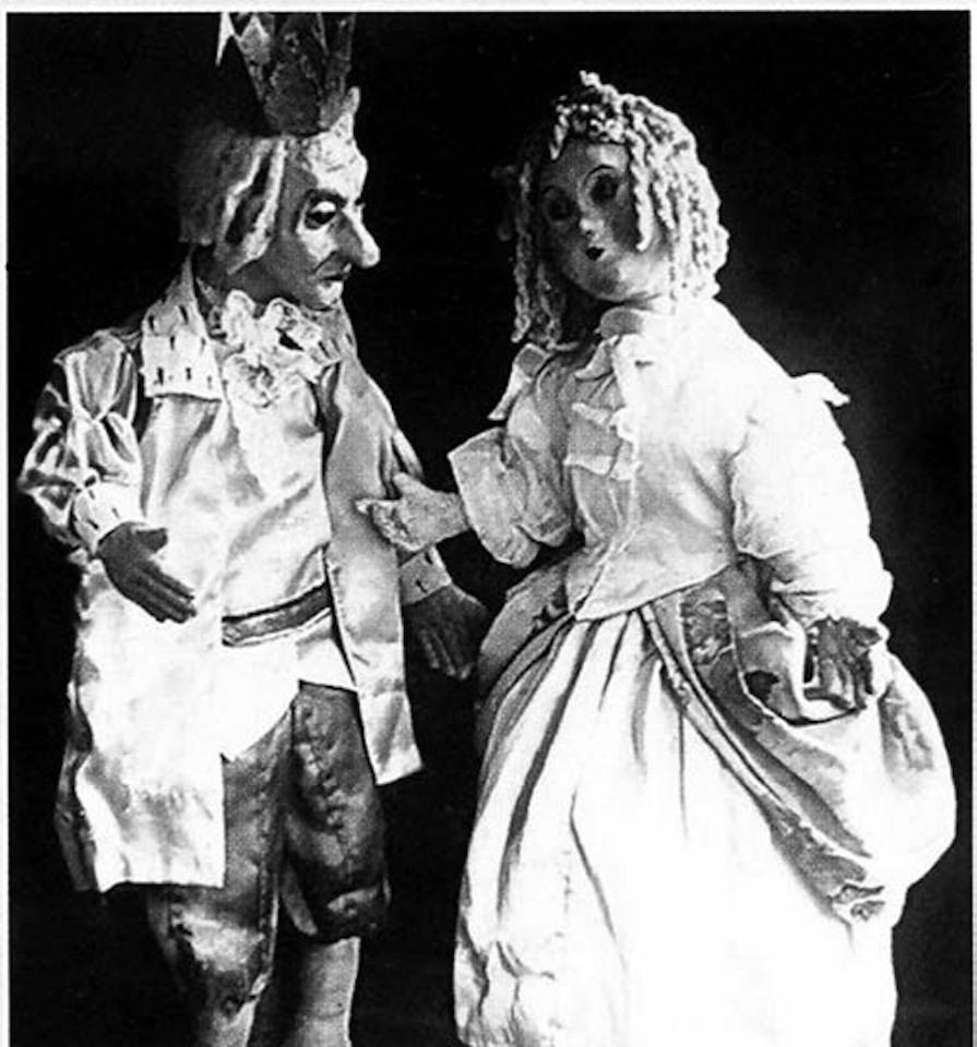 «Король и Петютя». Куклы к спектаклю «Кот в сапогах», Мария Елгаштина (годы жизни 1873-1966), 1930-е годы