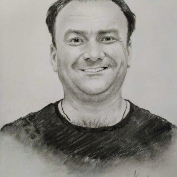 «Портрет Салавата Нурисламова», Руслан Камалов