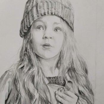 «Портрет девочки», Руслан Камалов