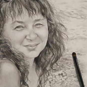 «Портрет женщины», Руслан Камалов