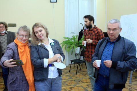 «Вечер встретим» с художником Ольгой Фроловой