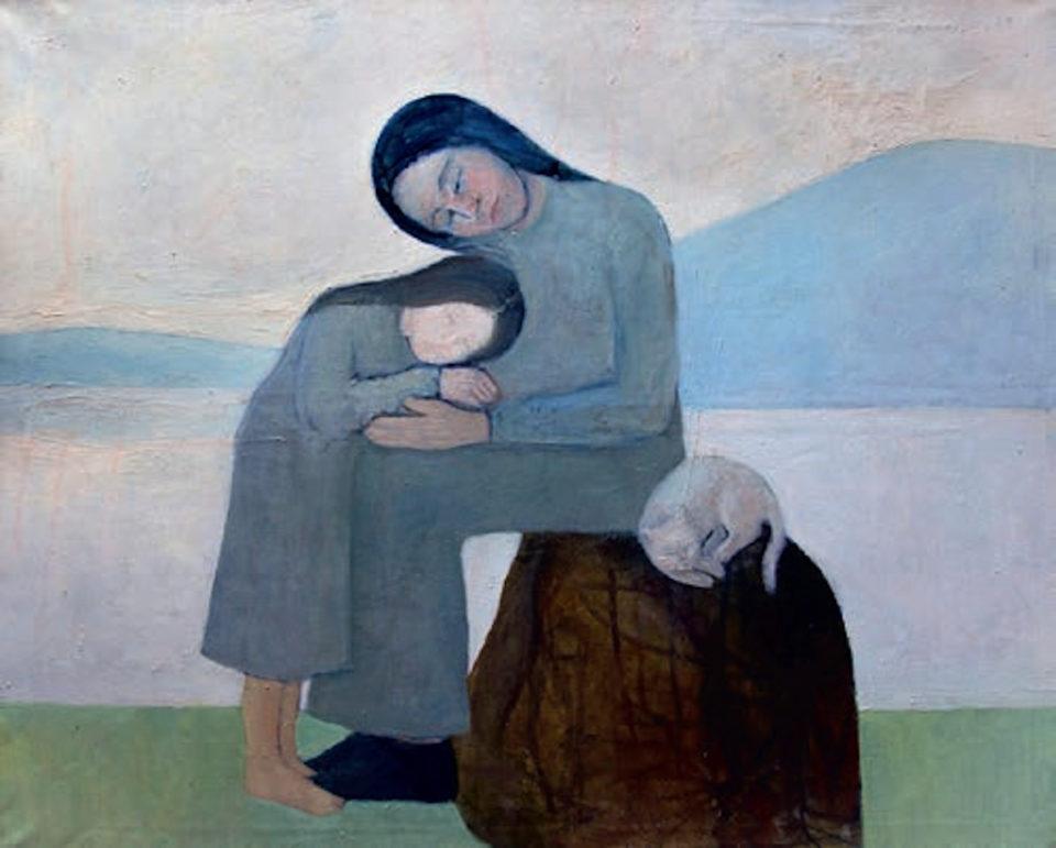 «Счастье», Айрат Баймухаметов (годы жизни 1958-2015), 2002, холст, масло