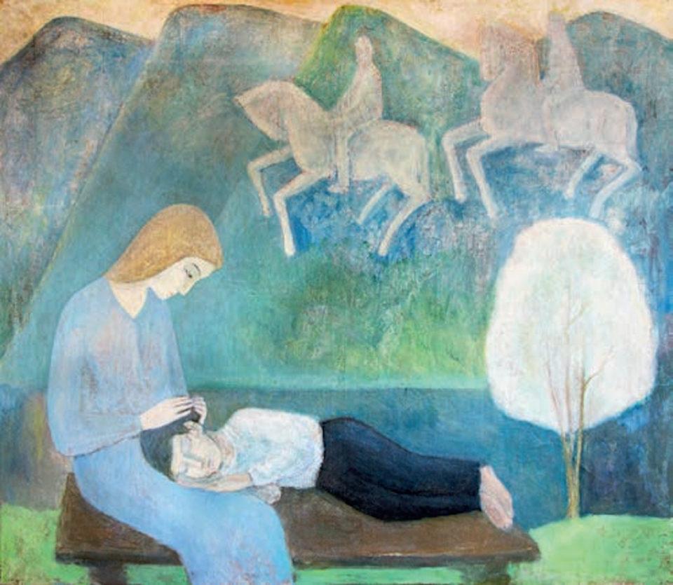 «Возвращение любви», Айрат Баймухаметов (годы жизни 1958-2015), 2007, холст, масло