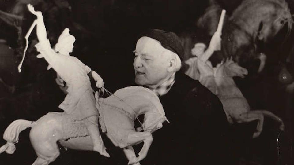 Скульптор Сосланбек Тавасиев (1894–1974 гг.)