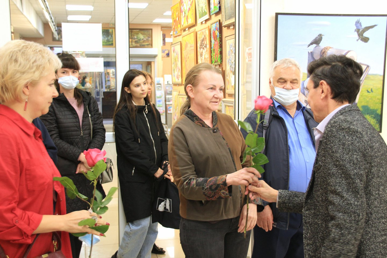 Открытие выставки к 25-летию создания Творческого объединения «Ассоциация художников Юга Башкортостана»