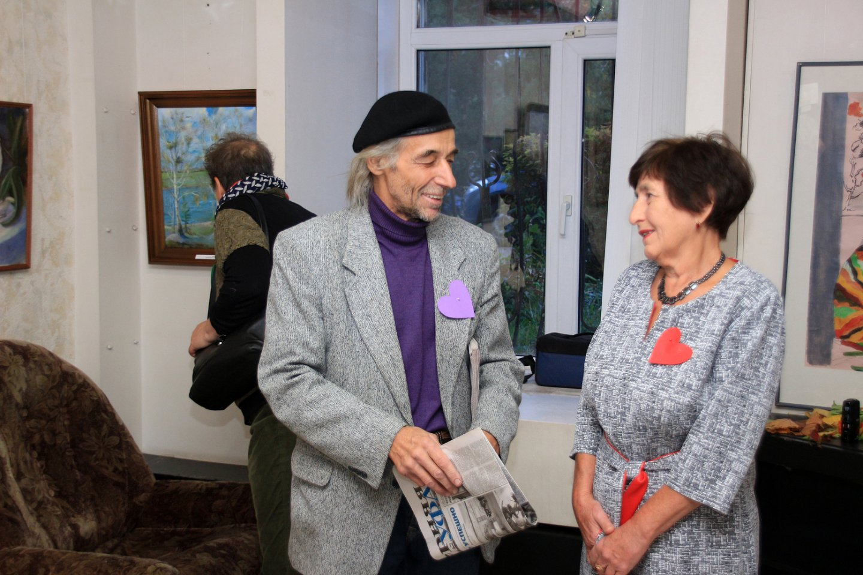 Выставка трех художников: Валерия Гагина, Татьяны Барыкиной и Елены Абушахминой в галерее «Урал»