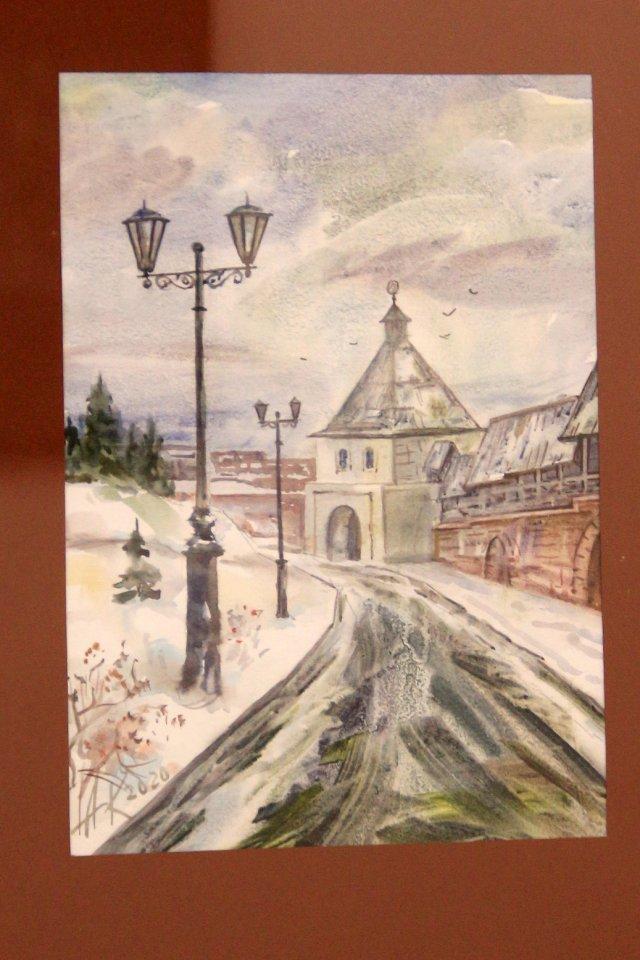 «Цель творчества – самоотдача…»: открытие юбилейной выставки художника-акварелиста Альберта Кудаярова