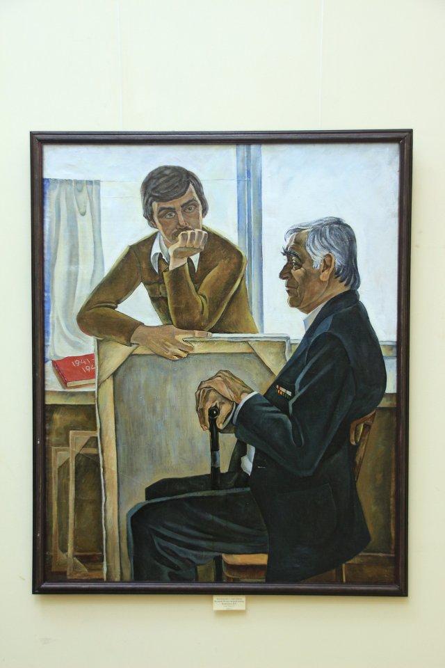 «Во всем я вижу жизни свет… и цвет…»: открытие выставки художника Вадима Абдуллаева