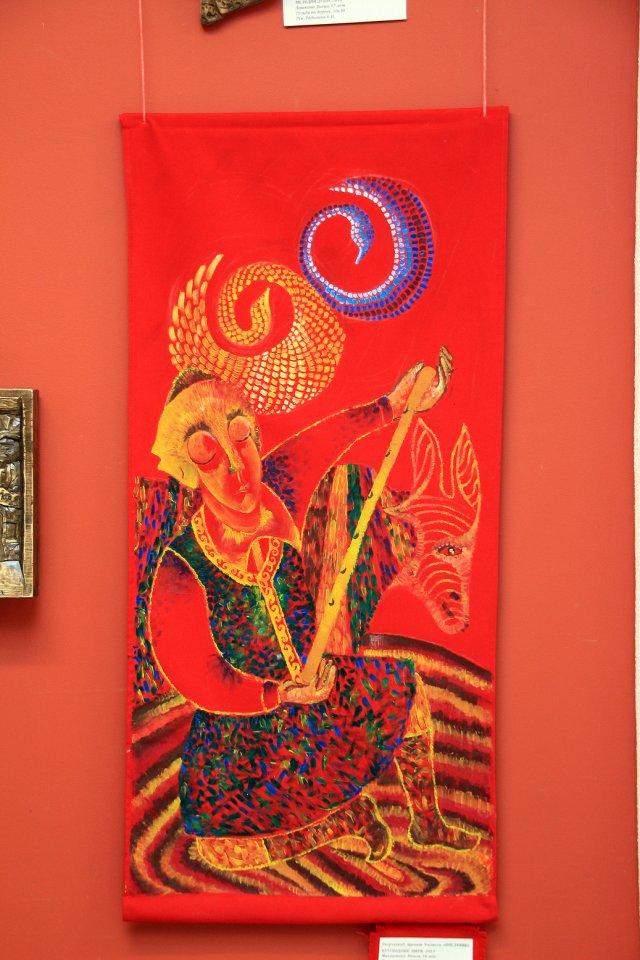 Юбилейная выставка работ преподавателей и учащихся к 60-летию Республиканской художественной гимназии им. К.А. Давлеткильдеева